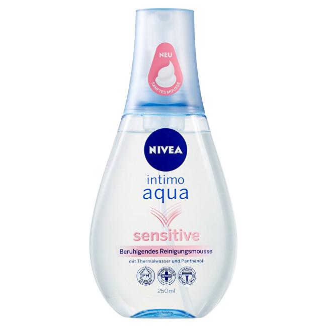 Nivea Zklidňující pěna pro intimní hygienu Intimo Aqua Sensitive 250 ml