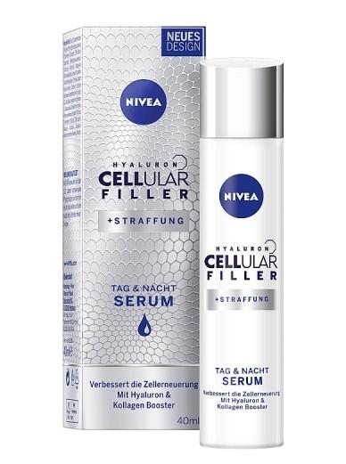 Nivea Zpevňující sérum pro omlazení pleti (Hyaluron Cellular Filler) 40 ml