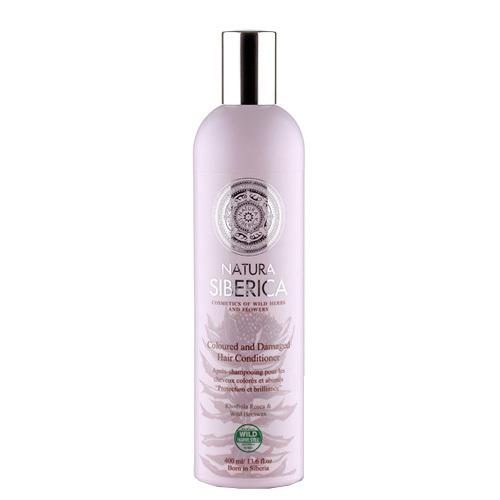 Natura Siberica Kondicionér pro barvené a poškozené vlasy - Ochrana a lesk (Coloured and Damaged Hair Conditioner) 400 ml