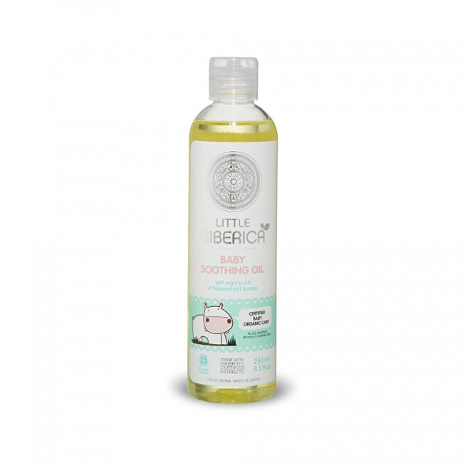 Little Siberica Detský upokojujúci olej ( Baby Soothing Oil) 250 ml