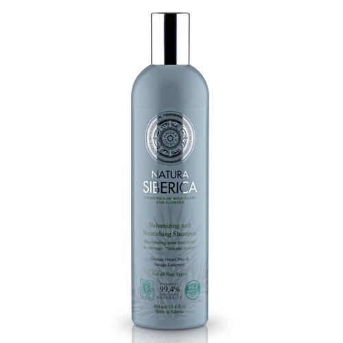 Natura Siberica Šampon pro všechny typy vlasů - Objem a péče (Volumizing and Nourishing Shampoo) 400 ml