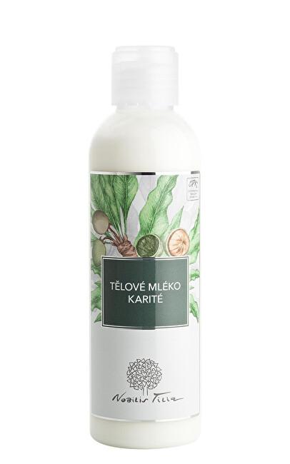 Nobilis Tilia Tělové mléko Karité 200 ml