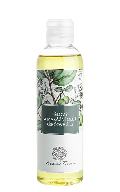 Nobilis Tilia Tělový a masážní olej Křečové žíly 200 ml