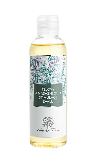 Nobilis Tilia Tělový a masážní olej Stimulace svalů 200 ml