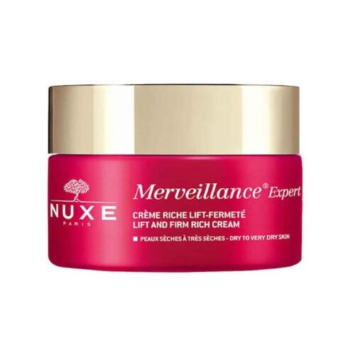 Nuxe Denní zpevňující a liftingový krém pro suchou pleť Merveillance Expert (Lift and Firm Rich Cream) 50 ml