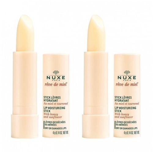 Nuxe Hydratační tyčinka na rty Reve de Miel (Lip Moisturizing Stick) 2 x 4 g