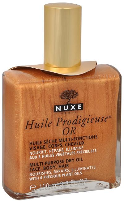 Nuxe Multifunkční suchý olej se třpytkami Huile Prodigieuse OR (Multi-Purpose Dry Oil) 100 ml