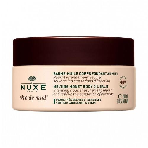 Nuxe Olejový tělový balzám pro suchou a citlivou pokožku Reve de Miel (Melting Honey Body Oil Balm) 200 ml