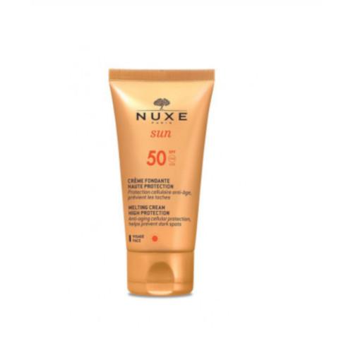 Nuxe Opalovací krém na obličej SPF 50 Sun (Melting Cream High Protection) 50 ml