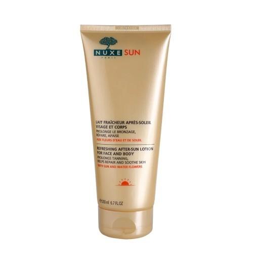 Nuxe Osvěžující mléko po opalování na obličej a tělo Sun (Refreshing After Sun Lotion For Face And Body) 200 ml