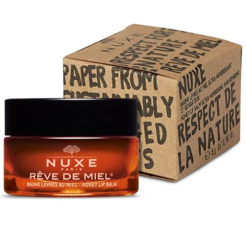 Nuxe Ultra výživný balzám na rty s medem Reve de Miel 02 (Ultra Nourishing and Repairing Honey Lip Balm) 15 g