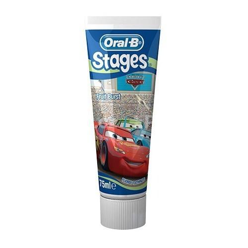 Oral B Dětská zubní pasta Auta (Pro-Expert Stages Cars) 75 ml