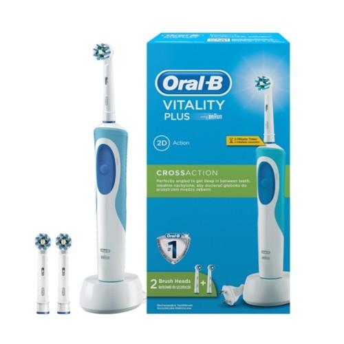 Oral B Elektrický zubní kartáček Vitality Cross Action + 2 hlavice (Cross Action)