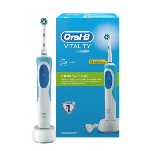 Oral B Elektrický zubní kartáček Vitality Cross Action + 1 hlavice (Cross Action)