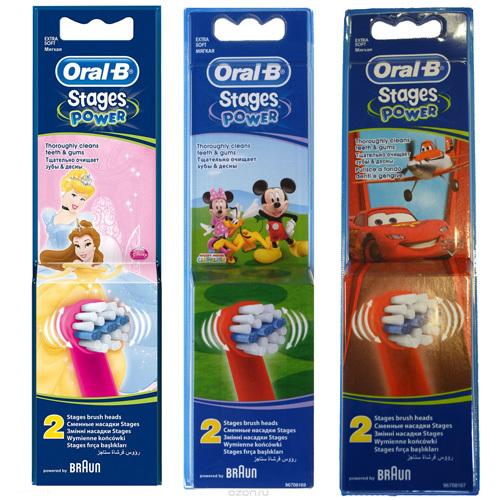 Oral B Náhradní hlavice pro zubní kartáček Kids EB10 2 ks
