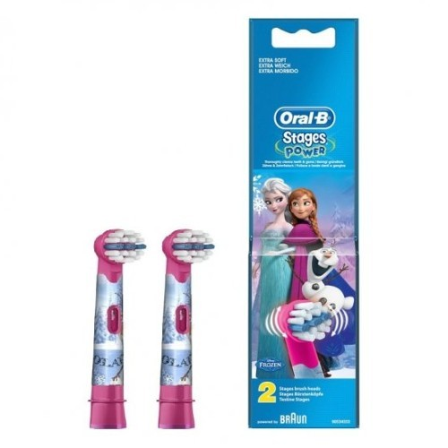Oral B Náhradní hlavice pro zubní kartáček Kids Frozen 2 ks