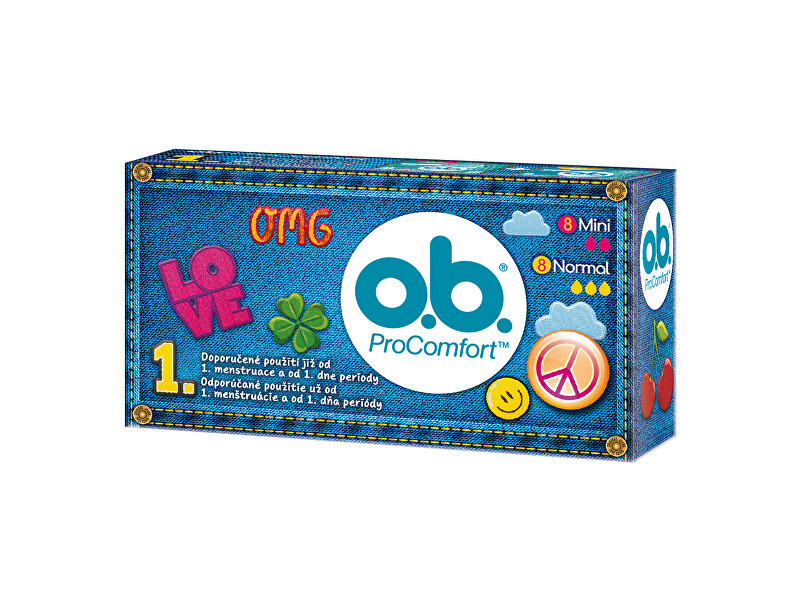 O.b. Tampony ProComfort Teenpack 16