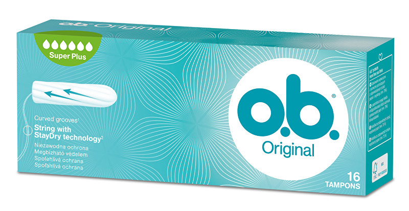 o.b. ob tampóny super plus 16