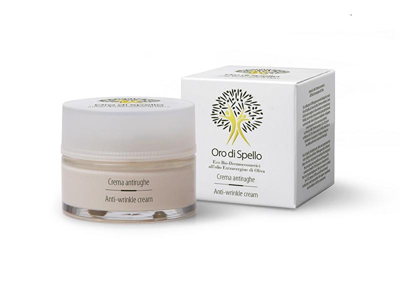 Oro di Spello Krém proti vráskám z extra panenského olivového oleje pro rovnováhu a hydrataci pleti (Anti Wrinkle Cream) 50 ml