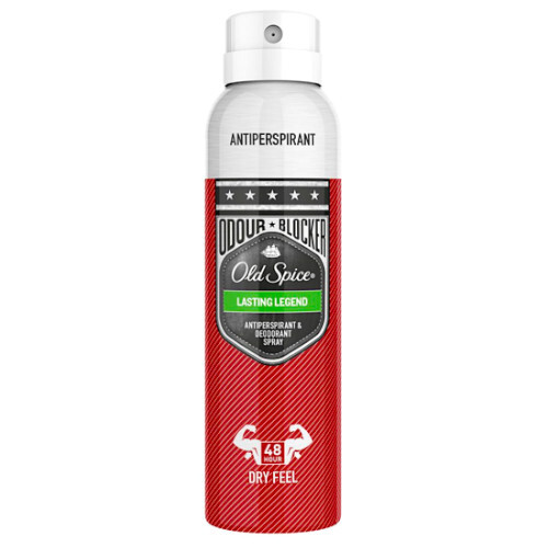Old Spice Antiperspirant ve spreji Lasting Legend 150 ml