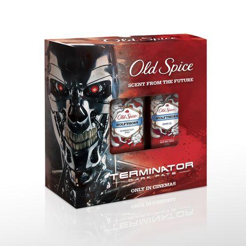 Old Spice Wolfthorn Deosprej 150 ml + Sprchovací gél 250 ml darčeková sada