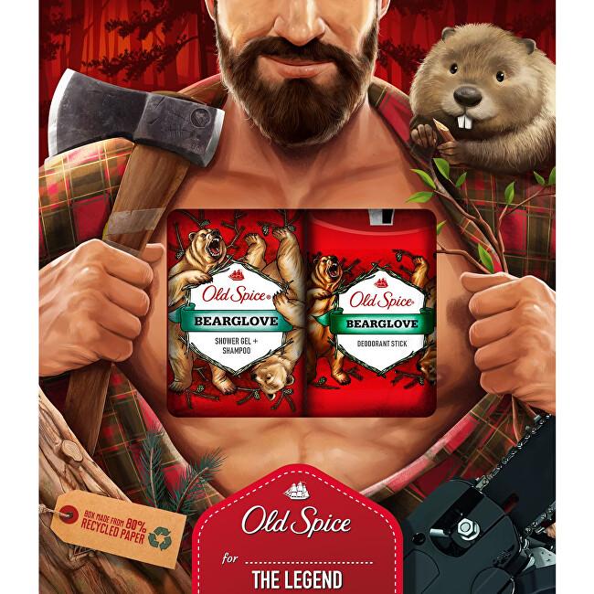 Old Spice Darčeková sada telové starostlivosti pre mužov Bearglove The Legend
