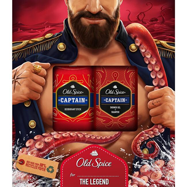 Old Spice Darčeková sada telové starostlivosti pre mužov Captain The Legend