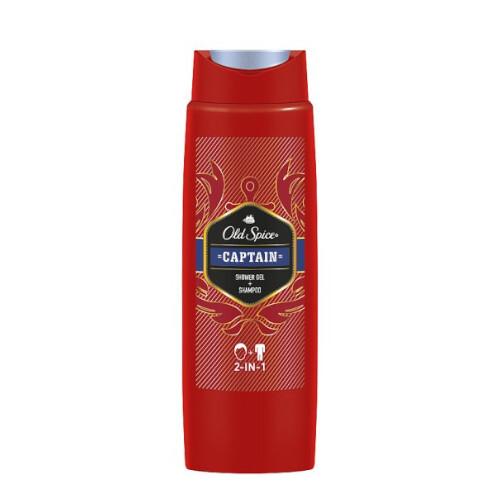 Old Spice Sprchový gel na tělo a vlasy Captain (Shower Gel + Shampoo) 250 ml