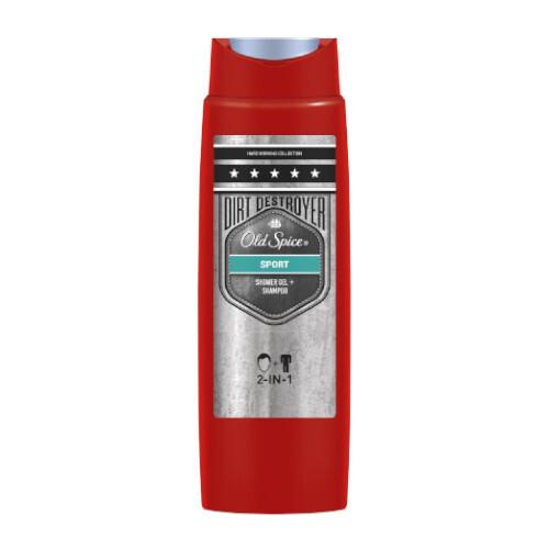 Old Spice Sprchový gel na tělo a vlasy Sport (Shower Gel + Shampoo) 250 ml