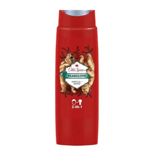 Old Spice Sprchový gel na tělo i vlasy Bear Glove (Shower Gel + Shampoo) 250 ml