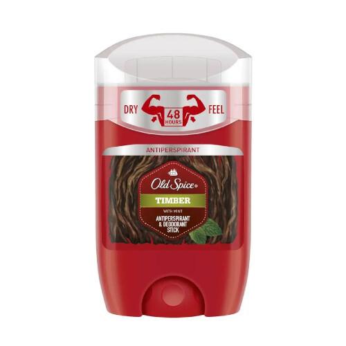 Old Spice Tuhý antiperspirant pro muže Timber (Antiperspirant & Deodorant Stick) 50 ml