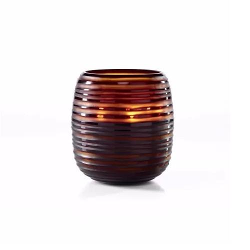 ONNO Vonná svíčka Brown Sphere Serengeti