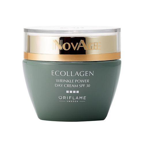 Oriflame Denní vyhlazující krém proti vráskám NovAge Ecollagen Wrinkle Power SPF 30 (Wrinkle Smoothing Day Cream SPF 30) 50 ml