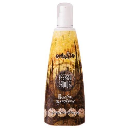 Oranjito Opalovací karamelové mléko do solária (Babassu Caramel Superaccelerator) 250 ml