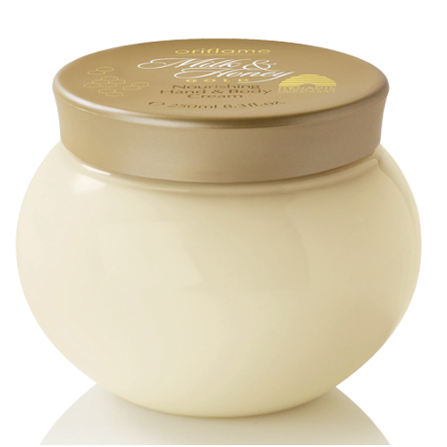 Oriflame Krém na ruky a telo Milk   Honey Gold (Hand Cream) 250 ml