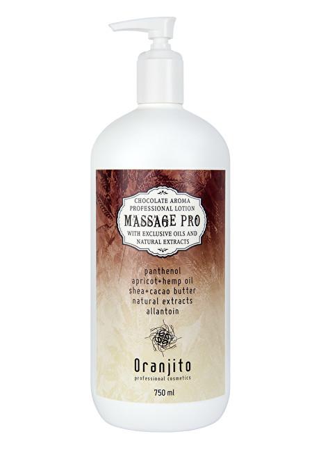 Oranjito Masážní mléko Čokoláda (Massage Pro Chocolate Professional Lotion) 750 ml