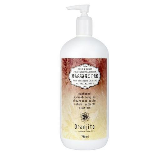 Oranjito Masážní mléko s mlékem a medem (Massage Pro) 750 ml