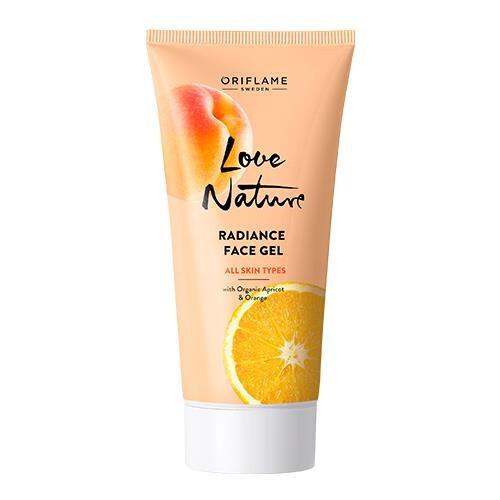 Oriflame Rozjasňujúci pleťový gél s bio marhuľami a pomarančom Love Nature (Radiance Face Gel) 50 ml