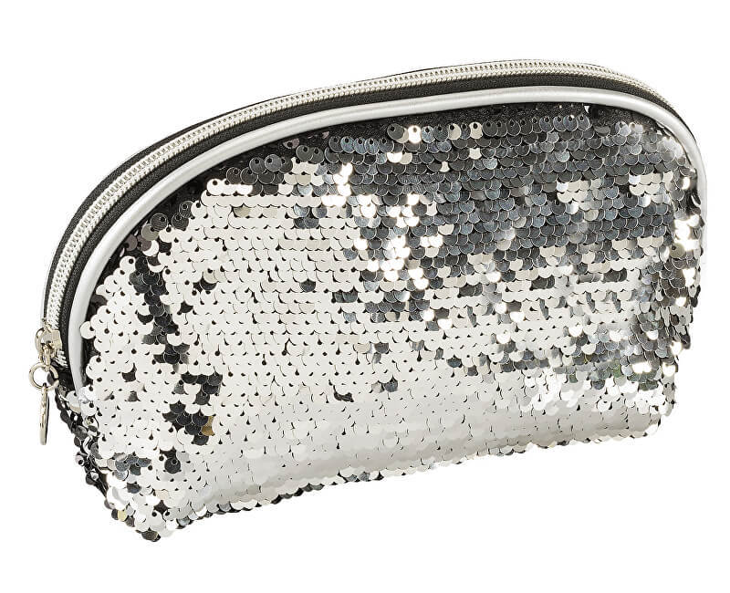 Ostatní Kosmetická taštička SEQUEEN stříbrná
