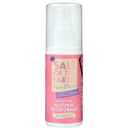 Salt Of The Earth Přírodní deodorant ve spreji s levandulí a vanilkou Pure Aura (Natural Deodorant) 100 ml