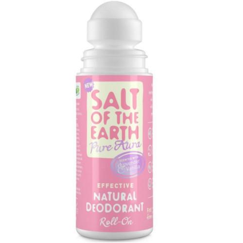 Salt Of The Earth Přírodní kuličkový deodorant s levandulí a vanilkou Pure Aura (Natural Deodorant) 75 ml