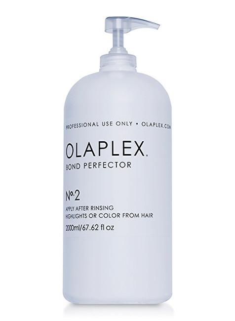 Olaplex obnovující péče snižující poškození vlasů při barvení s pumpičkou (Bond Perfector N°.2) 2000 ml