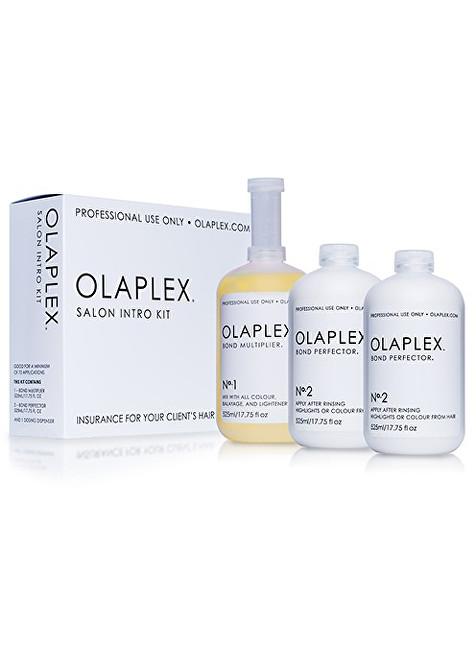 Olaplex Sada pre farbené alebo chemicky ošetrené vlasy (Salon Intro Kit) 3  x 525 b31c4b0352c