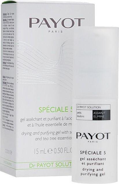 Payot Speciale 5 Vysušující a čistící gel 15 ml