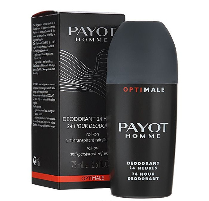 Payot Osvěžující roll-on antiperspirant Homme Optimale (24 Hour Deodorant) 75 ml
