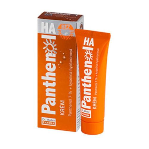 Dr. Müller Panthenol HA Krém 7% + kyselina hyaluronová 30 ml