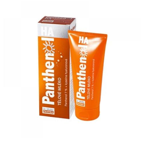 Dr. Müller Panthenol HA Tělové mléko 7% + kyselina hyaluronová 200 ml