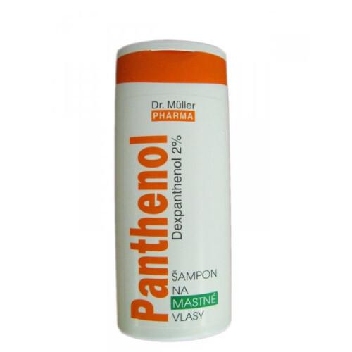 Dr. Müller Panthenol Šampon na mastné vlasy 250 ml