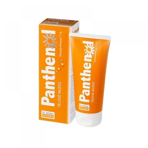 Dr. Müller Panthenol Tělové mléko 7 % 200 ml