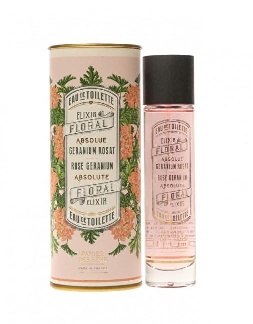 Panier des Sens Parfémovaná voda pro ženy Růže a muškát (EDT) 50 ml